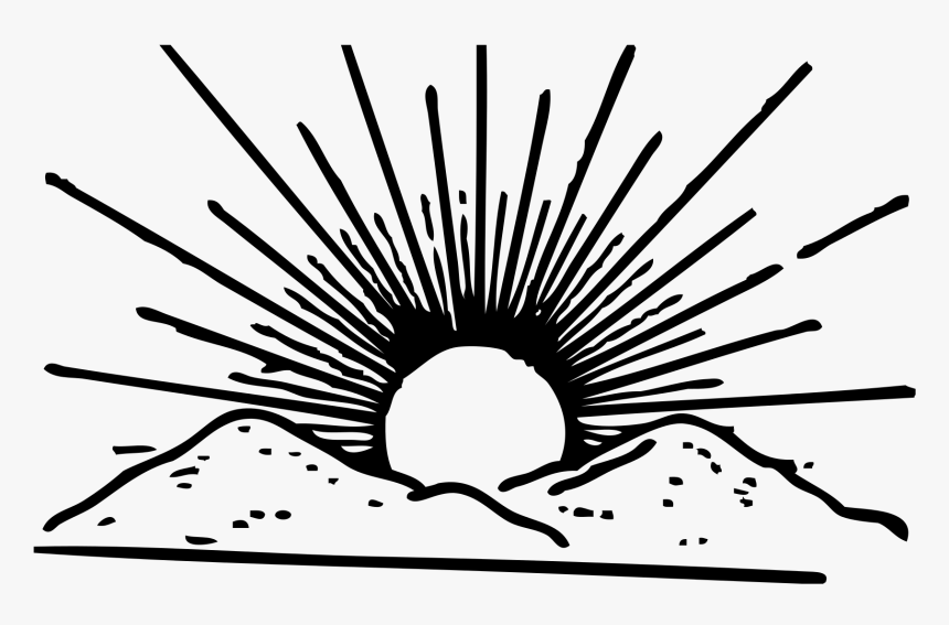 Happy Sun Black And White Clipart 97574 Election- - Dravida Munnetra Kazhagam, HD Png Download, Free Download