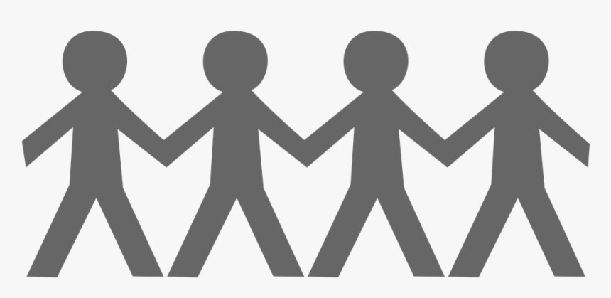 Stick People Holding Hands Png - People Holding Hands Clipart, Transparent Png, Free Download