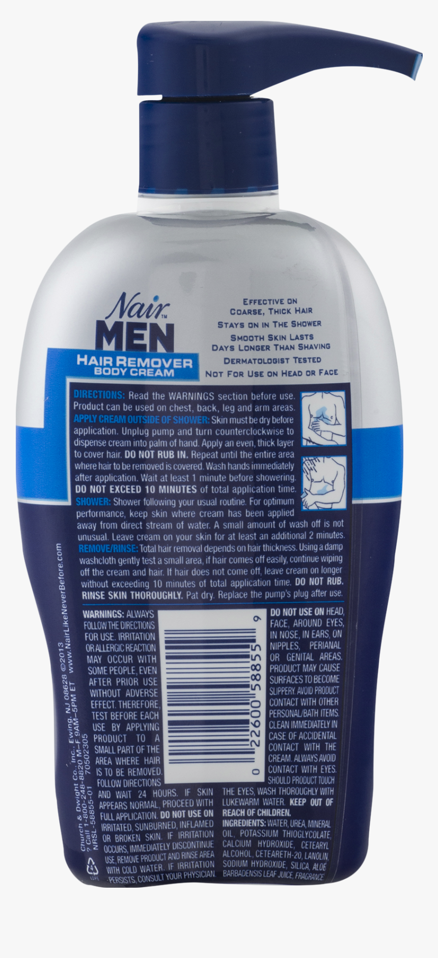 Men Hair Png Nair Men Hair Removal Cream 13 Oz Transparent Png