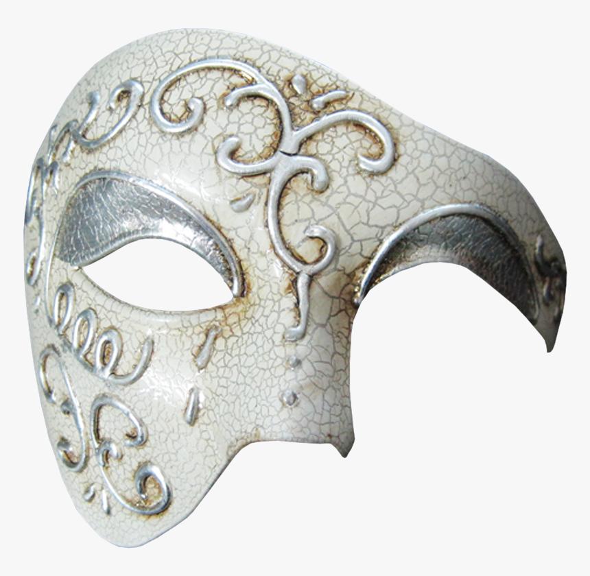 Vintage Series Phantom Of The Opera Half Face Masquerade - Phantom Of The Opera Mask Png, Transparent Png, Free Download