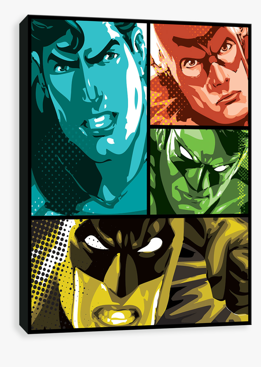 Justice League - Cartoon, HD Png Download, Free Download