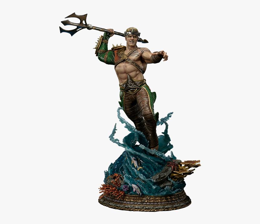 Injustice Aquaman Statue, HD Png Download, Free Download