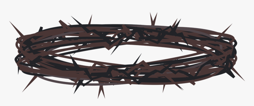 Graphic,lent,holy Week,crown Of Thorns,jesus,good Friday, - Coroa De Espinhos Png, Transparent Png, Free Download