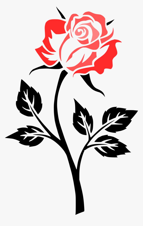 Clip Art Rose, HD Png Download, Free Download