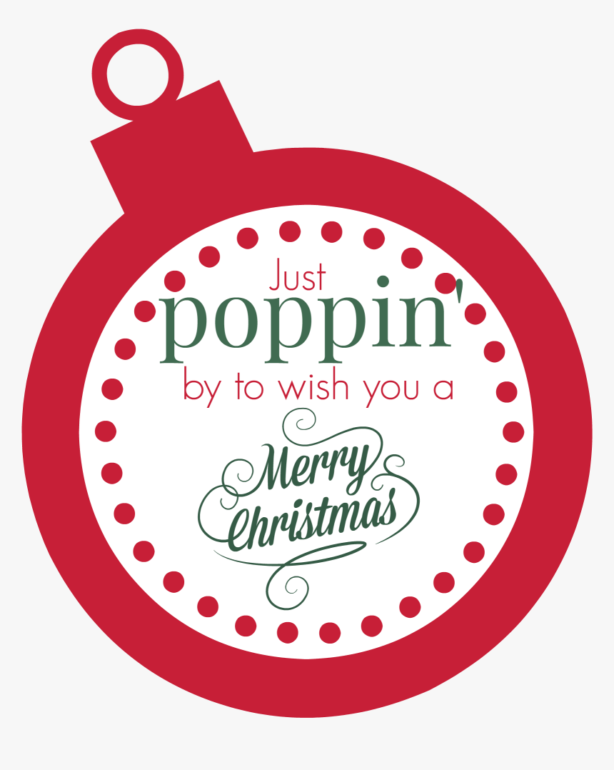 Transparent Christmas Gift Tag Clipart Free - Circle, HD Png Download, Free Download