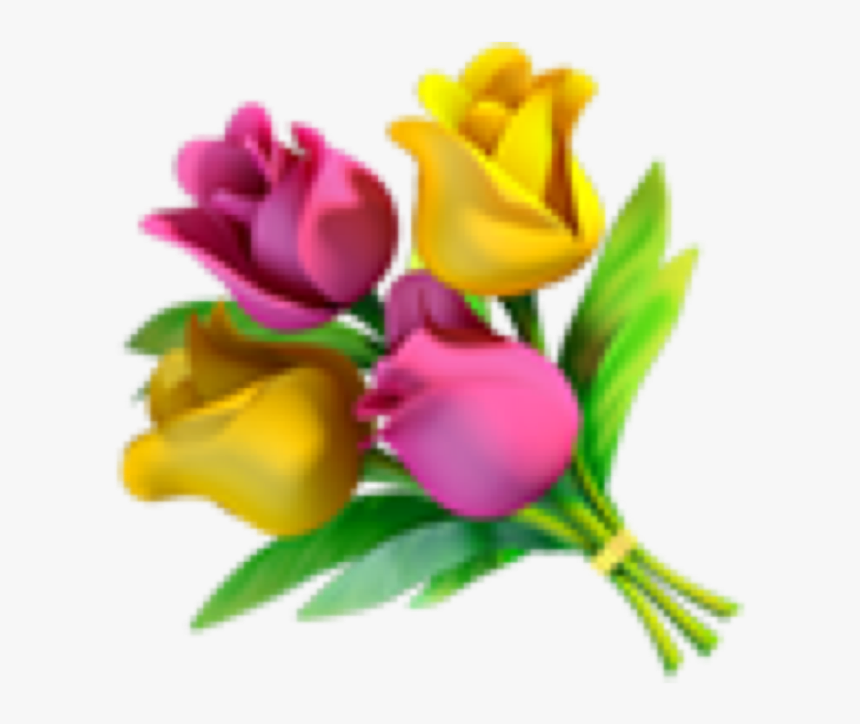 #flowers #flower #emoji #cute #cuteemojis #emojis #iphone - Flower Bouquet Emoji Png, Transparent Png, Free Download