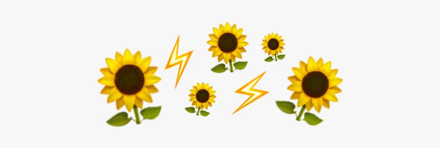 #emoji #crown #iphone #yellow #flower #aesthetic - Iphone Emoji Crown Transparent, HD Png Download, Free Download