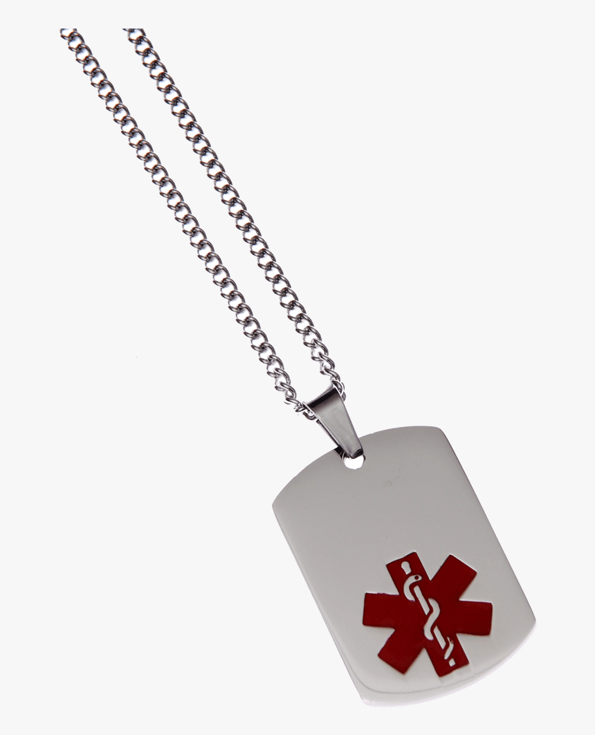 Blank Stainless Steel Dog Tag - Locket, HD Png Download, Free Download
