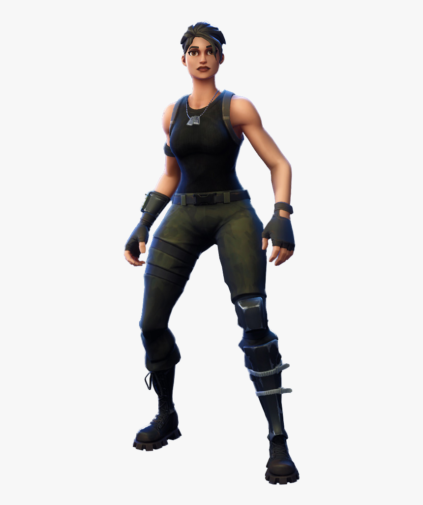Skin Renegada Fortnite Png, Transparent Png, Free Download