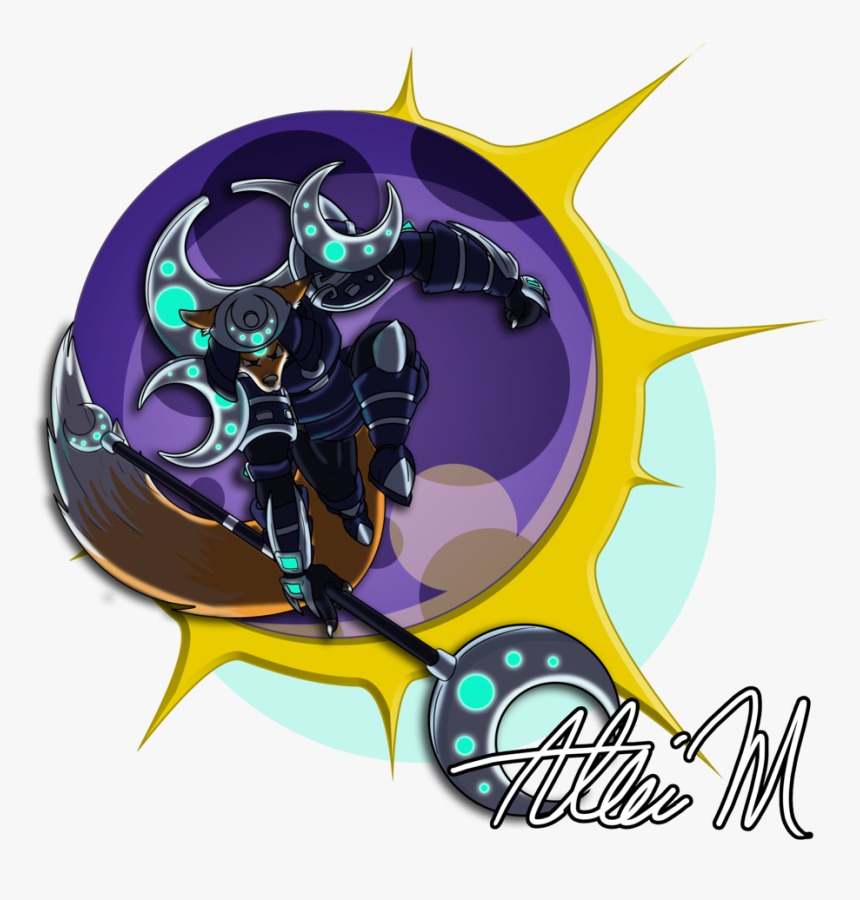 #trove/art Skythevirus Uploaded Defender Of The Eclipse - Graphic Design, HD Png Download, Free Download