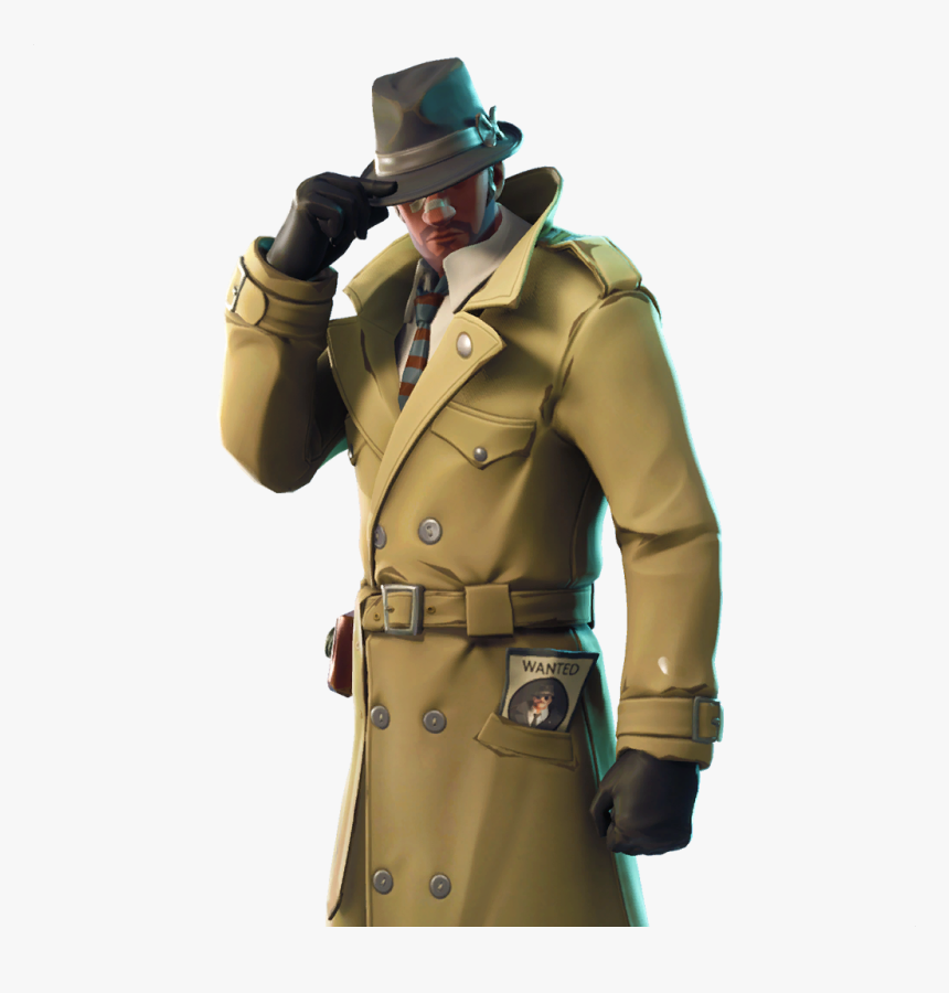 Sleuth Fortnite, New, Leaked, Skins, Data, Mine - Sleuth Fortnite Skin, HD Png Download, Free Download