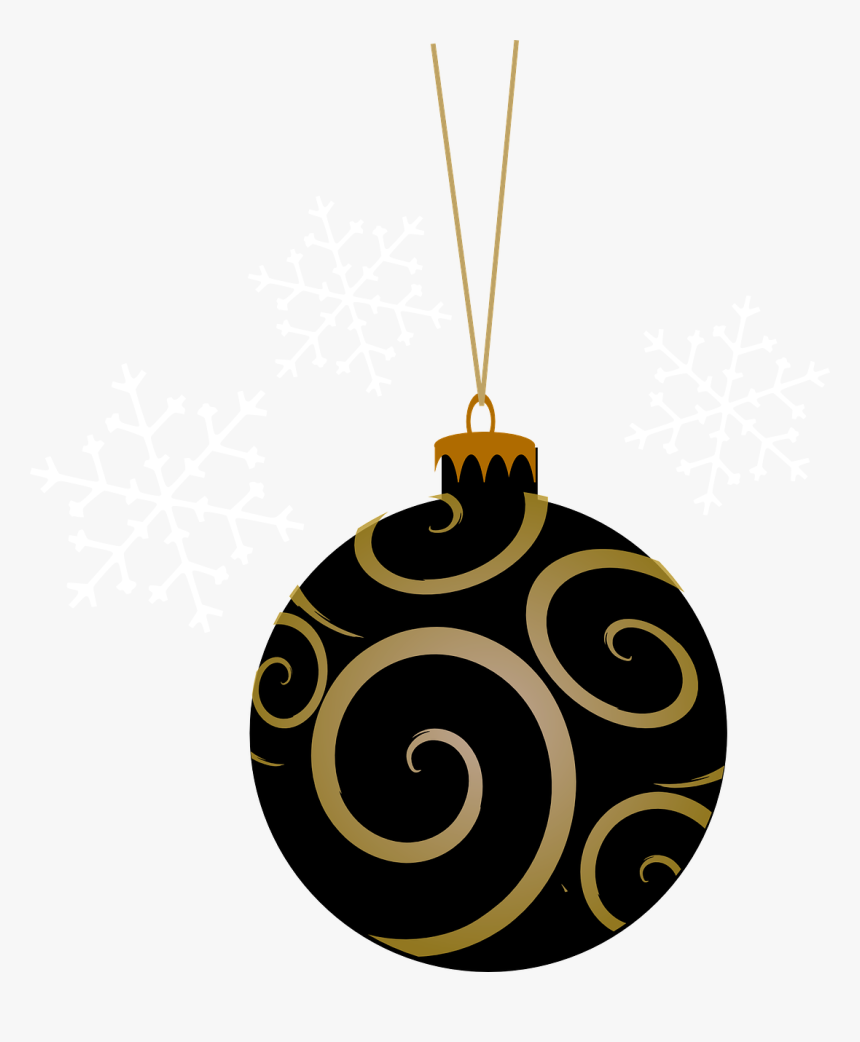 Bauble Black Tree Free Picture Christmas Ornaments Clipart Pink Hd Png Download Kindpng