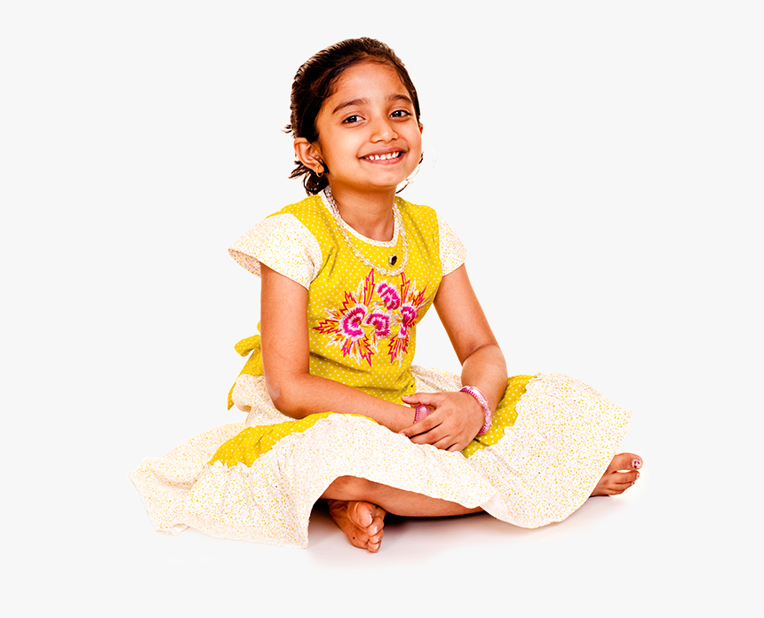 India Girl Child Ethnic Group Photography - Indian Little Girl Png, Transparent Png, Free Download