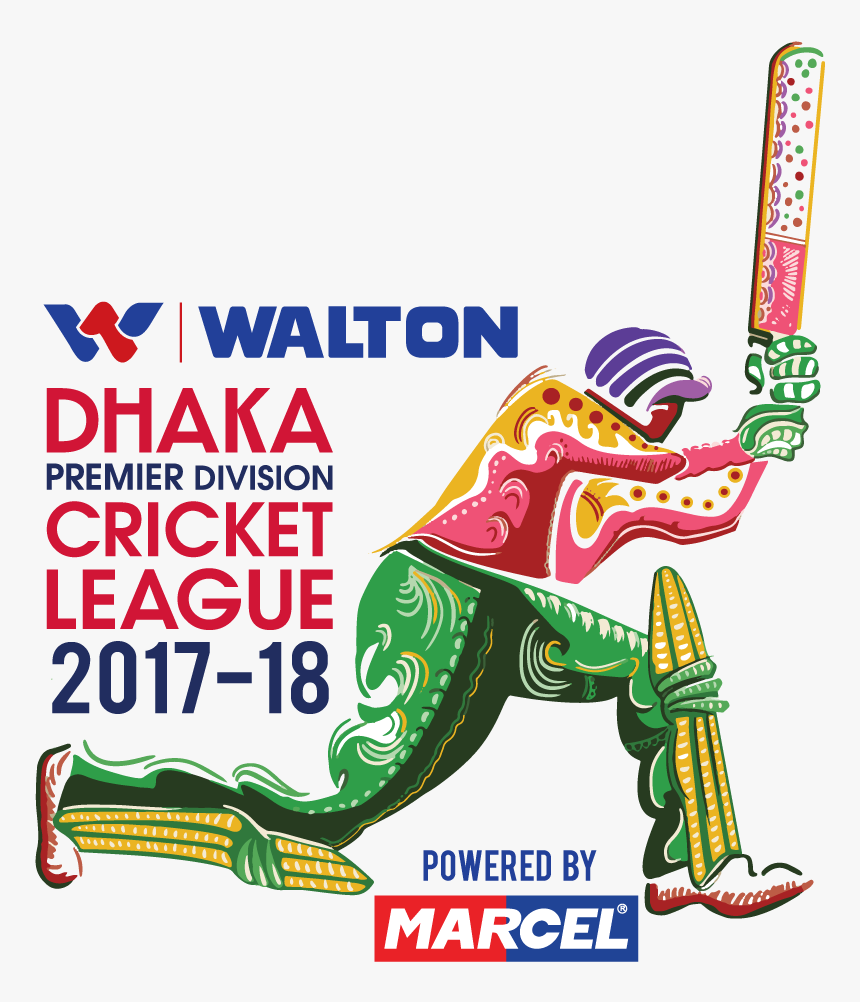 Tournament Logo Of Dhaka Premier Division Cricket League - Play Cricket For Free, HD Png Download, Free Download