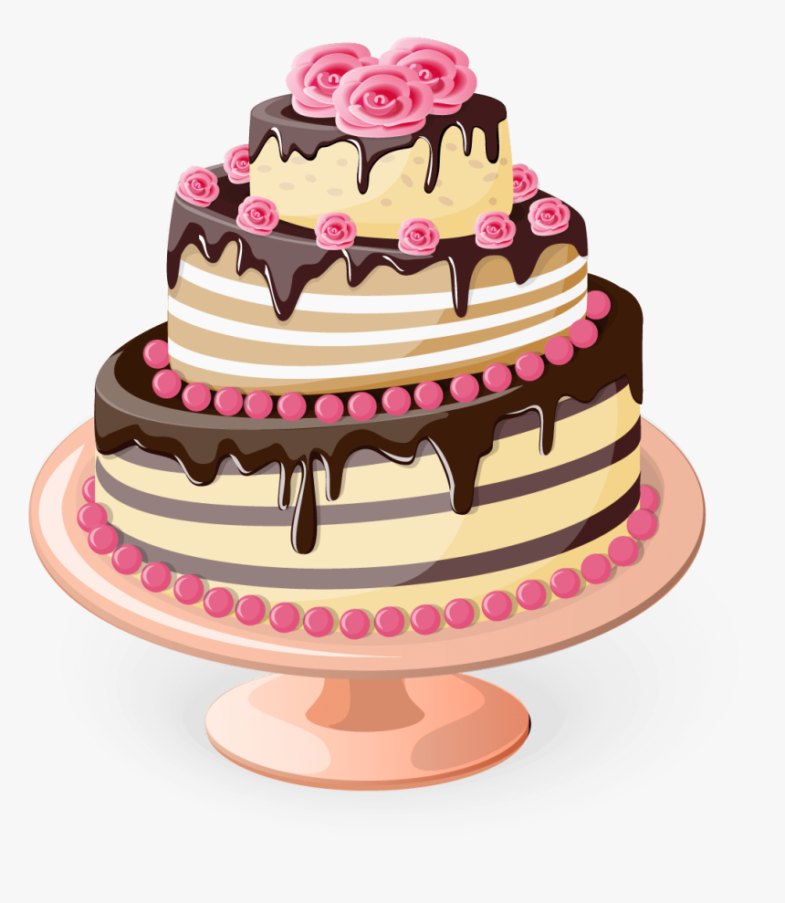 Cake Happy Birthday Png, Transparent Png, Free Download