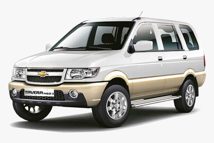 Chevrolet Tavera White Colour , Png Download - Tavera On Road Price, Transparent Png, Free Download