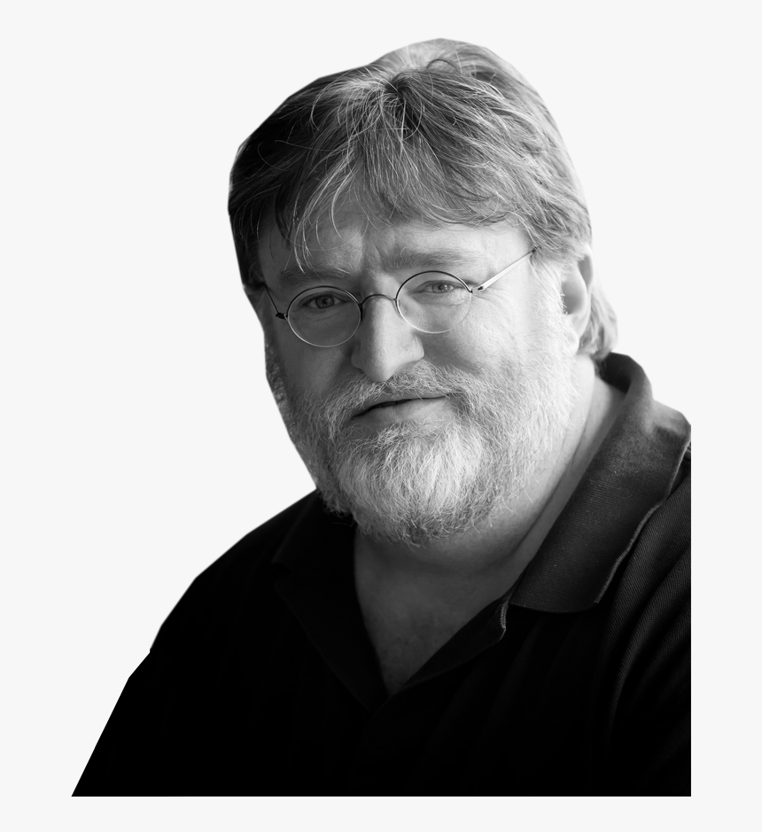 Gabe Newell - Gray Newell, HD Png Download, Free Download