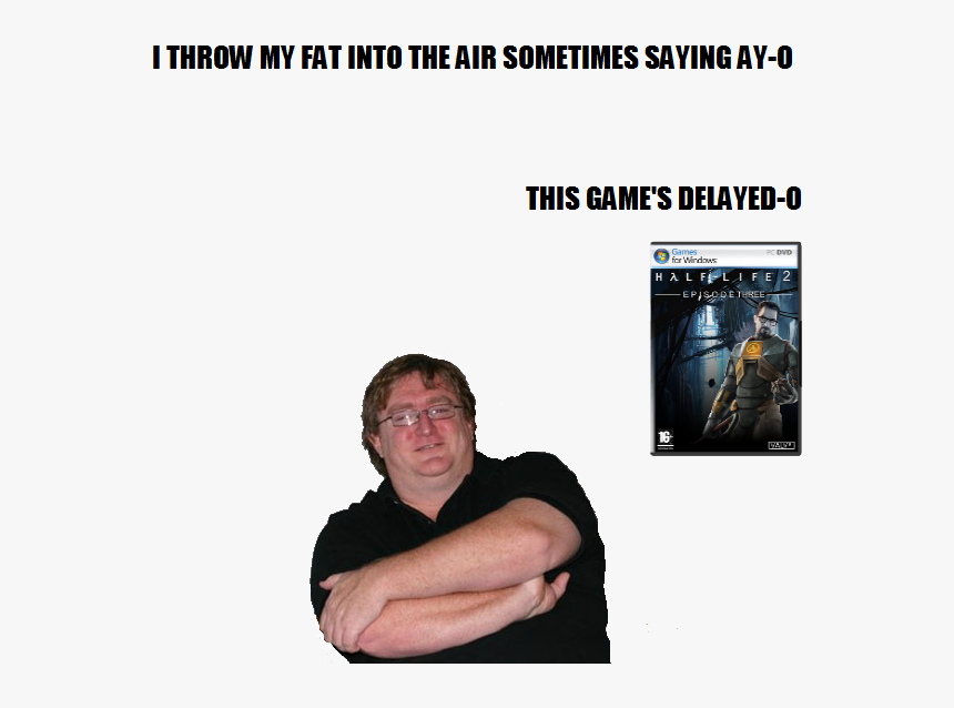 Gabe Newell No Background, HD Png Download, Free Download