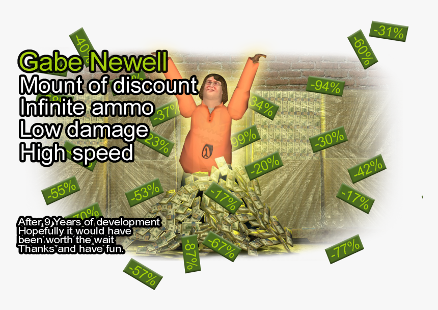 Transparent Gabe Newell Png - Online Advertising, Png Download, Free Download