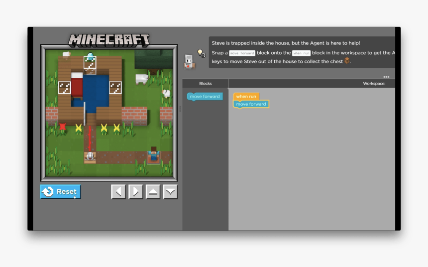 Minecraft Hour Of Code Level 14, HD Png Download, Free Download