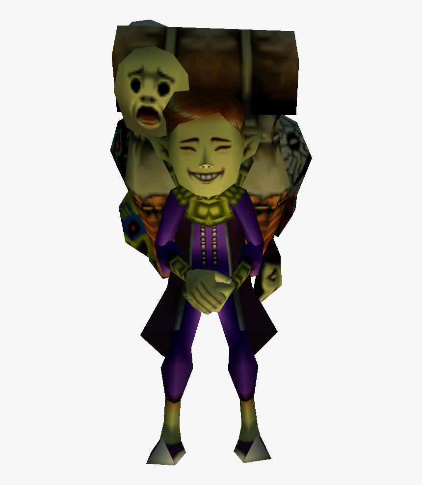 Happy Mask Salesman Majoras Mask, HD Png Download, Free Download