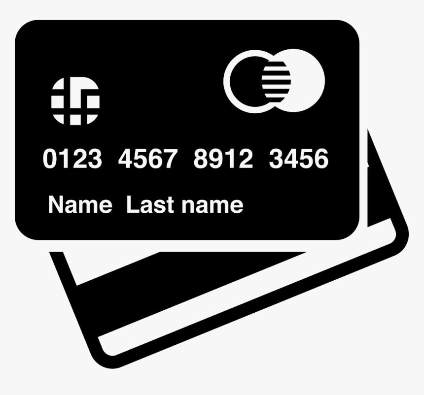 Image result for black square icon credit card visa