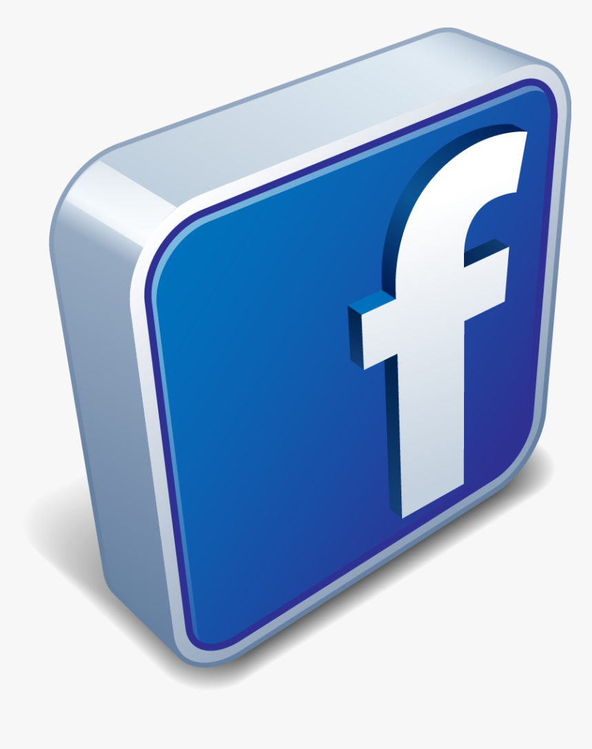 Facebook Icon 3d Png, Transparent Png, Free Download