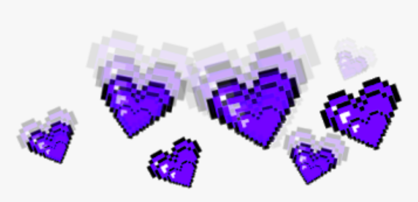 Purple Crown Crowns Tumblr Aesthetic Hearts Heart Png - Red Tumblr Stickers Png, Transparent Png, Free Download
