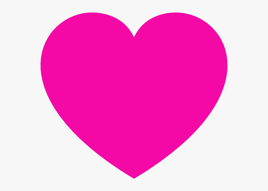 Heart Shape Pink Color, HD Png Download, Free Download