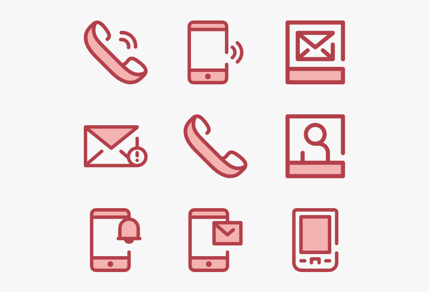 Social Media Icon Pink Png, Transparent Png, Free Download