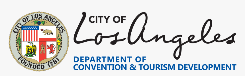Logo For The Department Of Convention And Tourism Development - Everyone Is Welcome Los Angeles, HD Png Download, Free Download