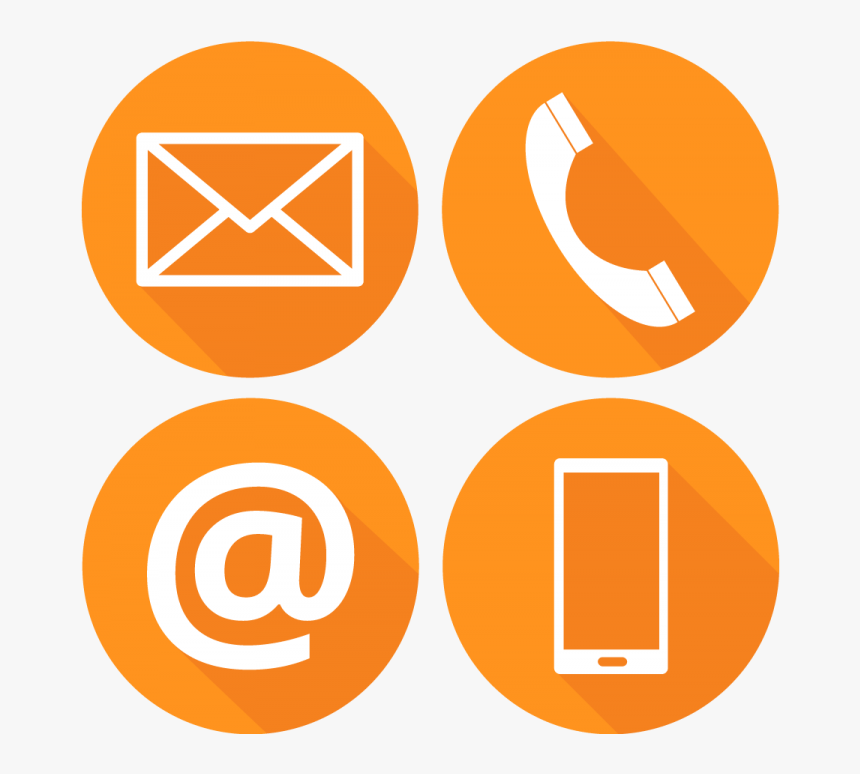 Contact Us Icon Png, Transparent Png, Free Download