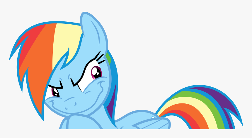 Vector - Rainbow Dash Grinch Face, HD Png Download, Free Download