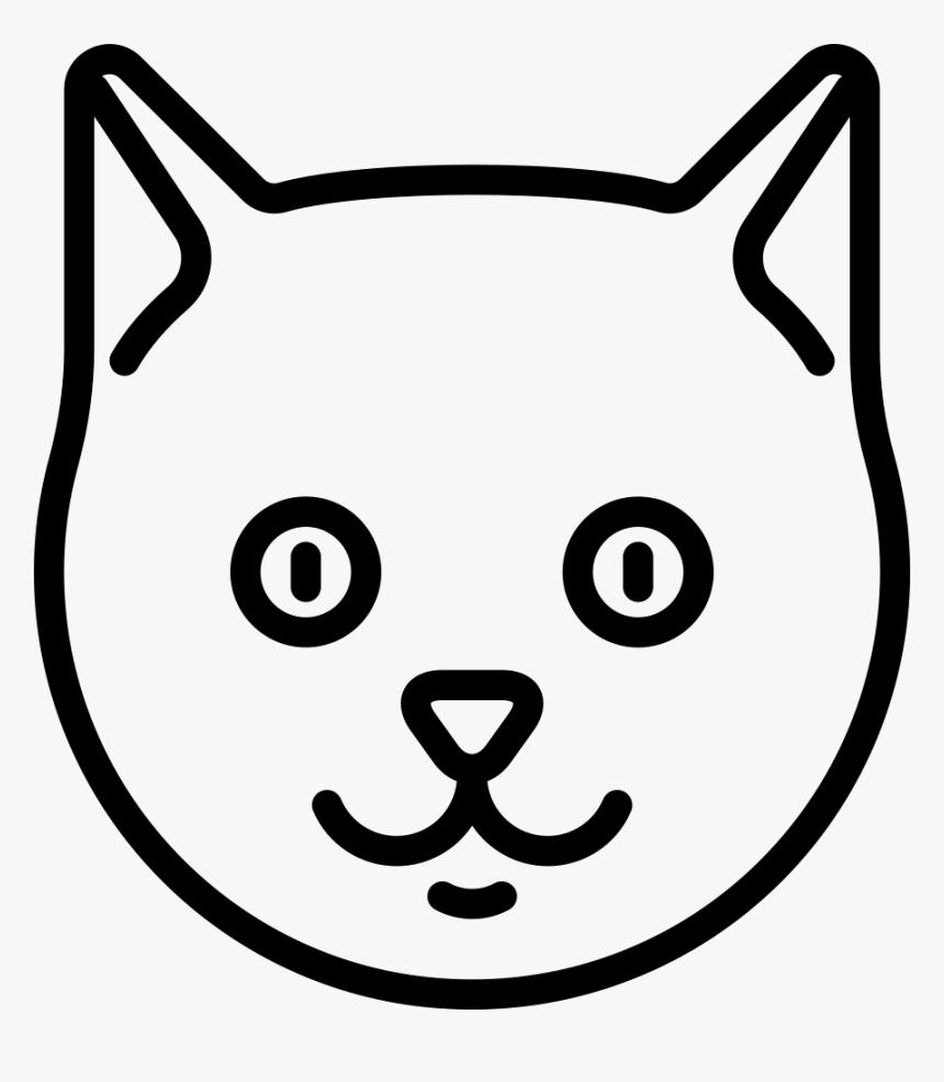 Cat Head - Cat Face Logo Png, Transparent Png, Free Download