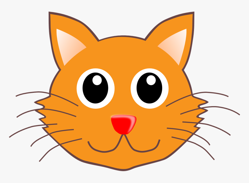 Cat Face Clip Art, HD Png Download, Free Download