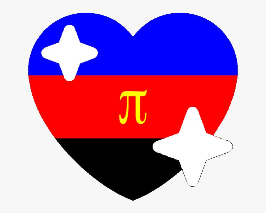 Polyamorous Sparkle Heart Discord Emoji - Discord Pride Heart Emojis, HD Png Download, Free Download