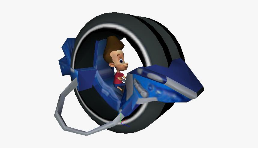 Nicktoons Racing Wiki - Jimmy Neutron Sheen Bike, HD Png Download, Free Download