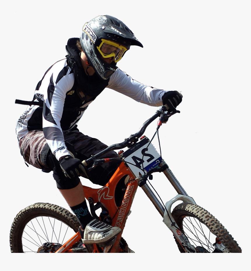 Learn More Mountain Biker - Mountain Biker Png, Transparent Png, Free Download