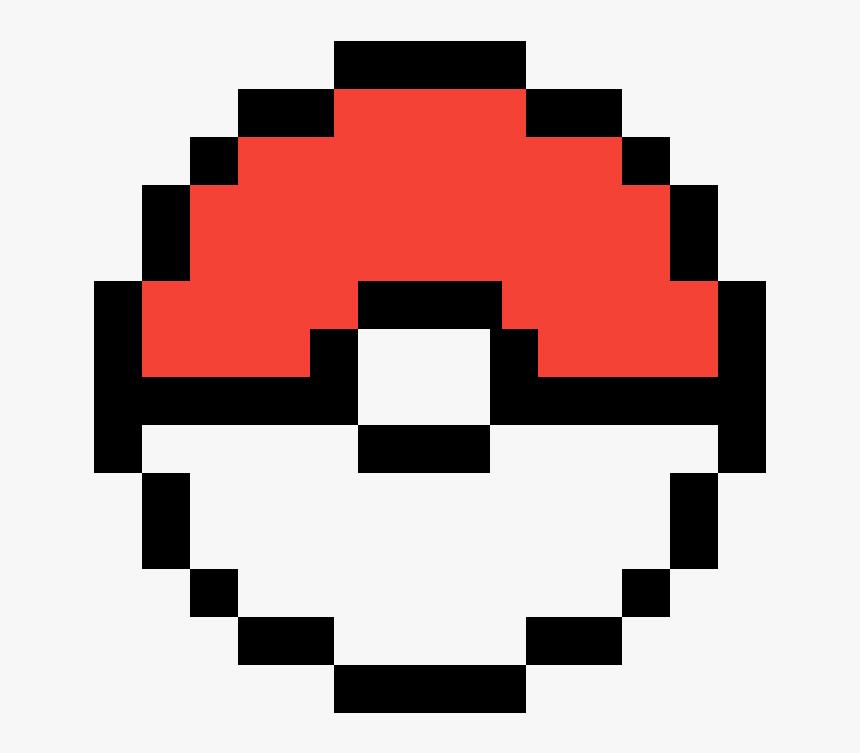 Pokeball Pixel Art, HD Png Download, Free Download