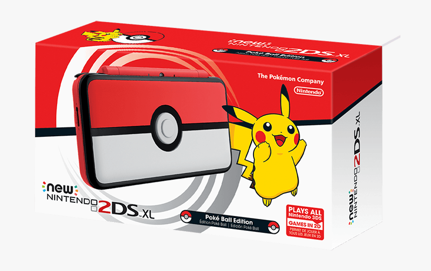 Nintendo 2ds Xl Pokemon, HD Png Download, Free Download