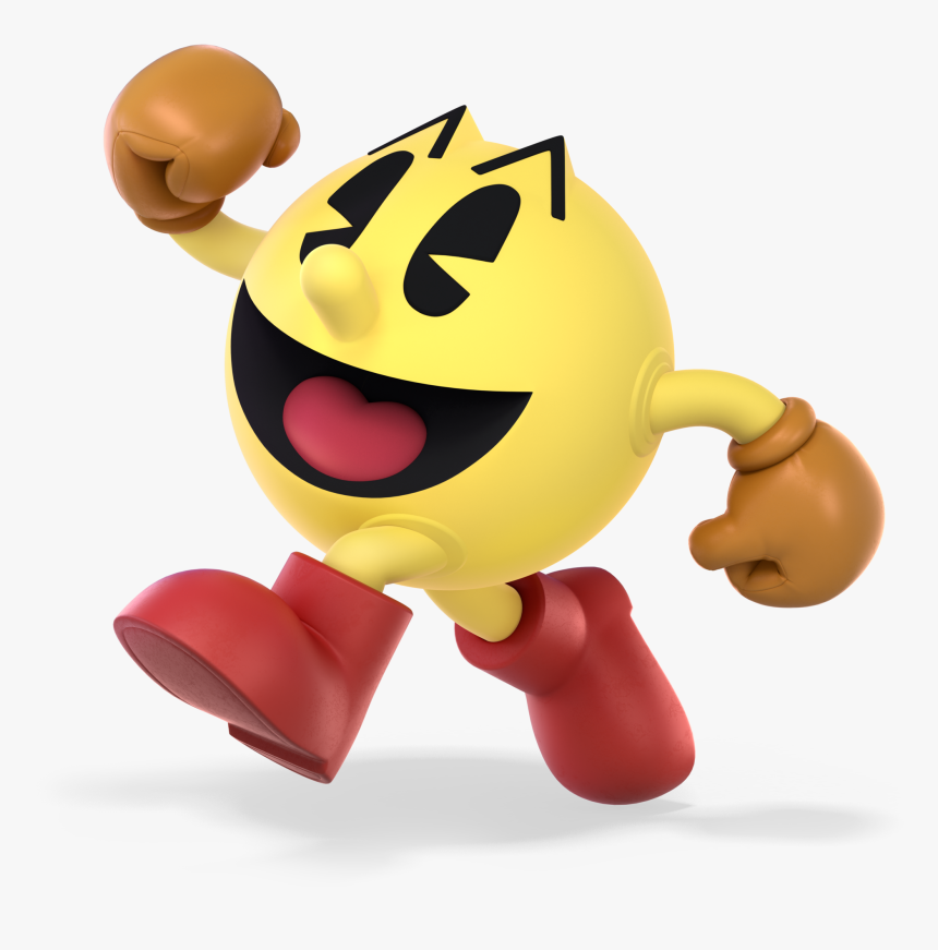 Super Smash Bros Ultimate Pac Man , Png Download - Super Smash Bros Ultimate Pac Man, Transparent Png, Free Download