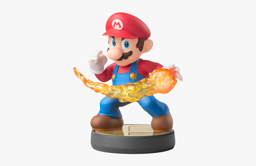 Super Smash Bros Ultimate Amiibo Mario, HD Png Download, Free Download