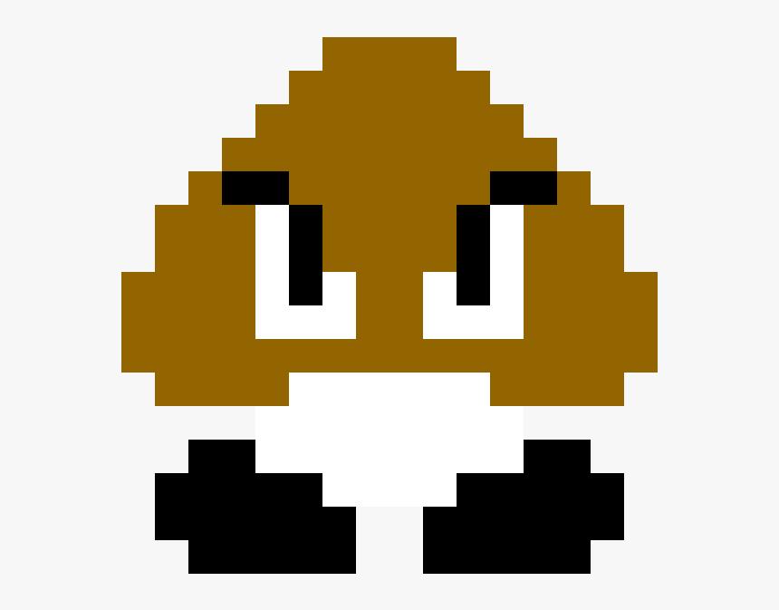 Goomba Pixel Png Download Super Mario Bros 1 Goomba