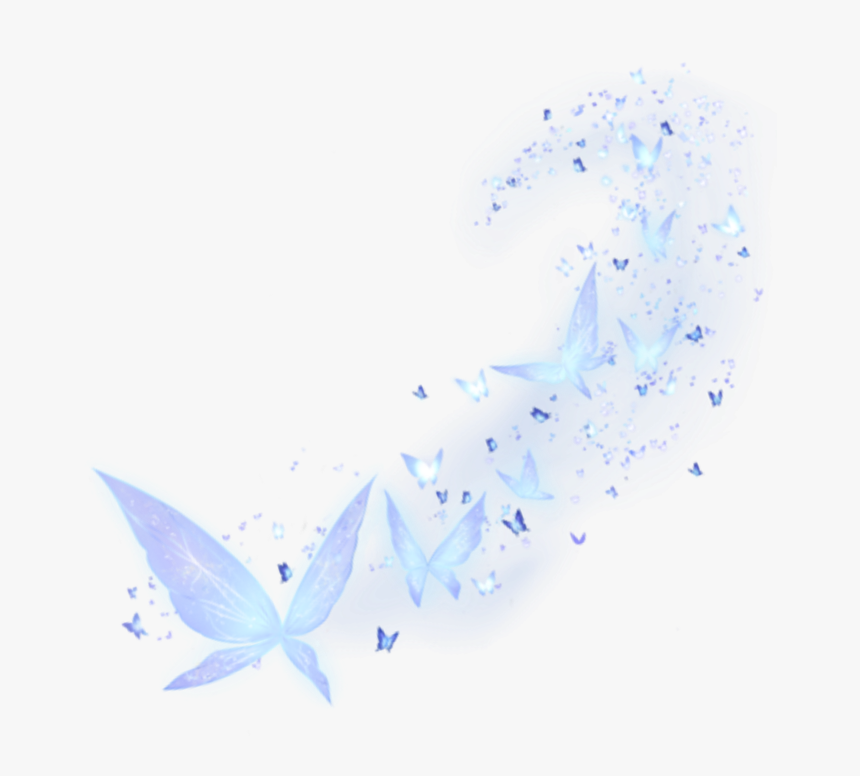 Blue Light Butterfly Png Light, Transparent Png, Free Download