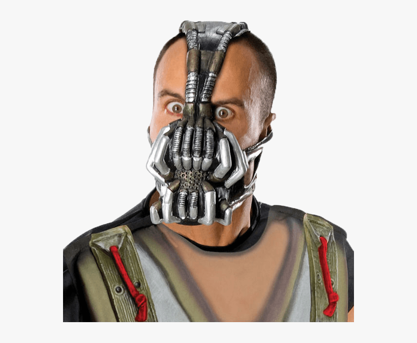 The Dark Knight Rises Bane Mask - Bane Halloween Mask, HD Png Download, Free Download
