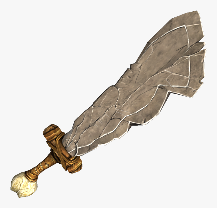 Wood And Stone Weapons, HD Png Download, Free Download