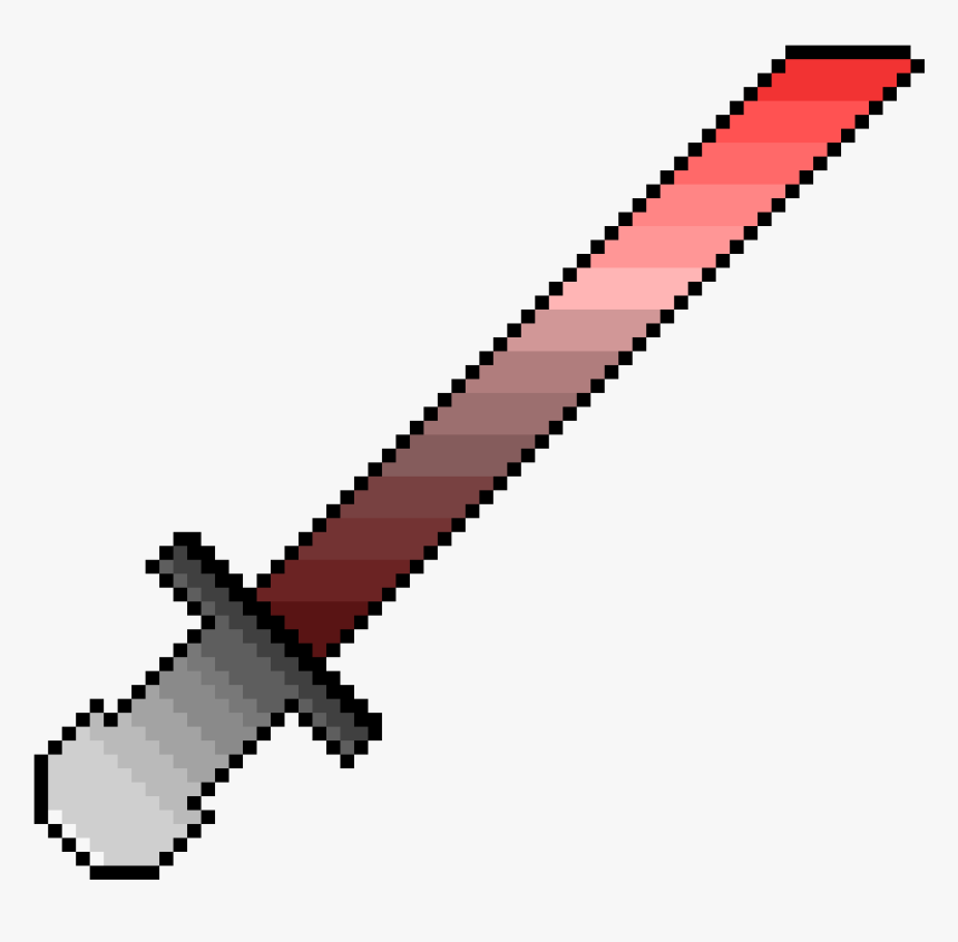 Diamond Sword Minecraft Transparent, HD Png Download, Free Download