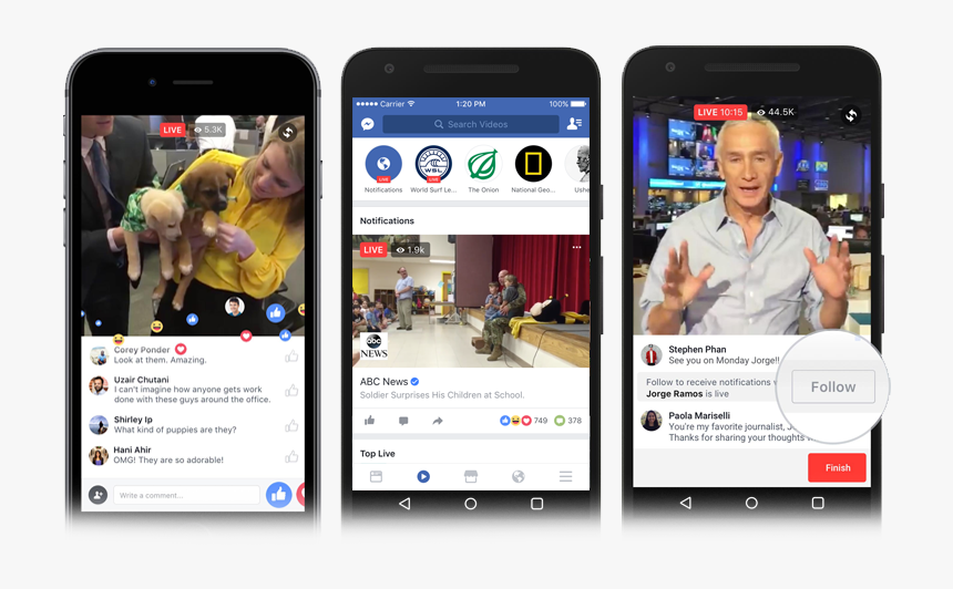 Facebook Live Video Product Shots Mobile - Watch Party Facebook ...