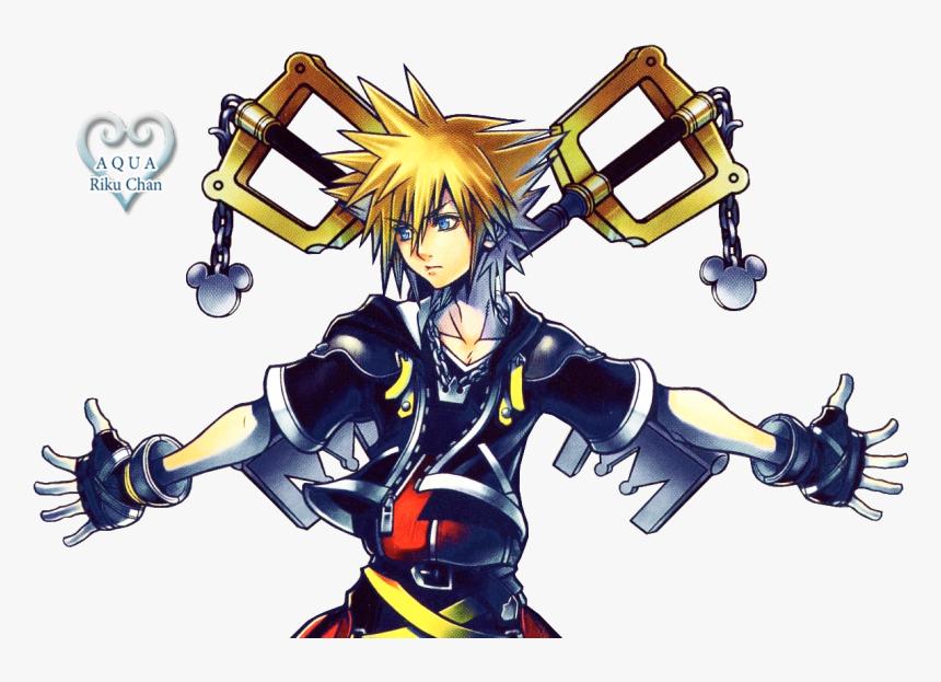 Sora Render - Artwork Kingdom Hearts 2 Sora, HD Png Download, Free Download