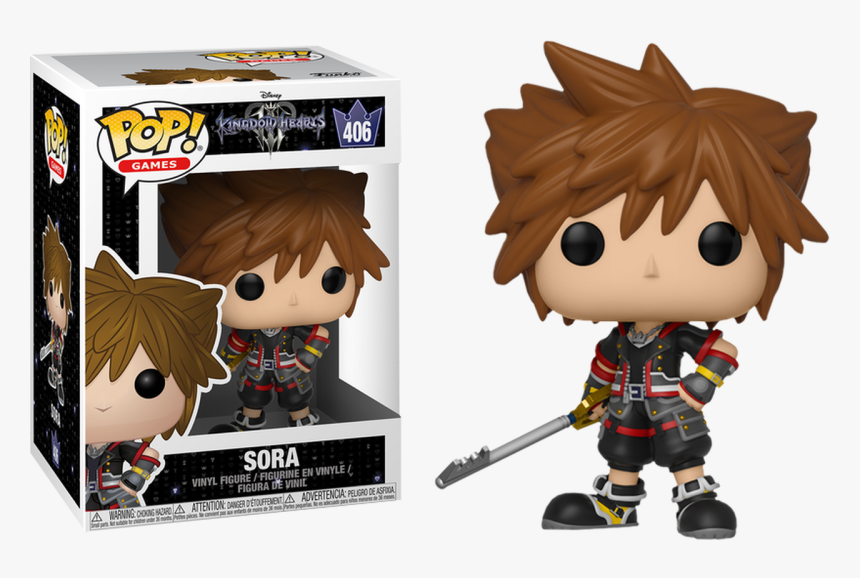 Kingdom Hearts Iii - Kingdom Hearts 3 Sora Pop, HD Png Download, Free Download